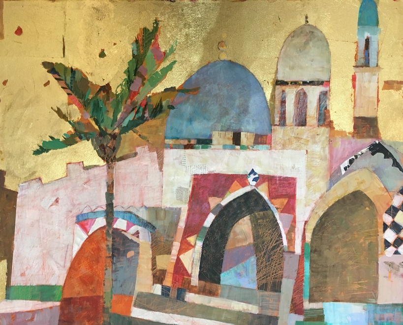 Sally Anne Fitter  Marrakesh midday  24 x 30 ins  £1,145  SOLD